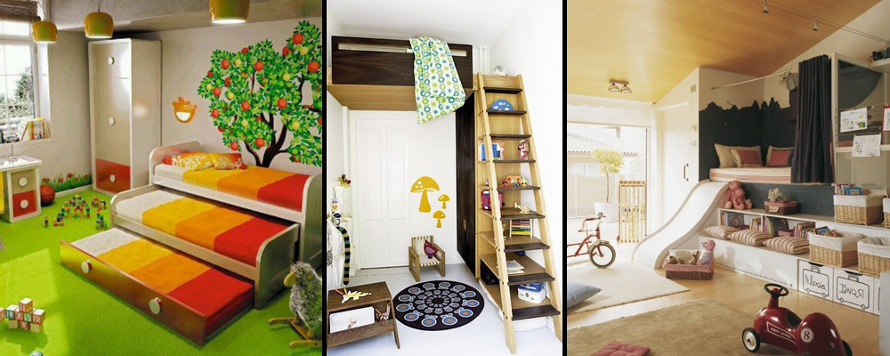 10 of the Coolest Kids Rooms Around!