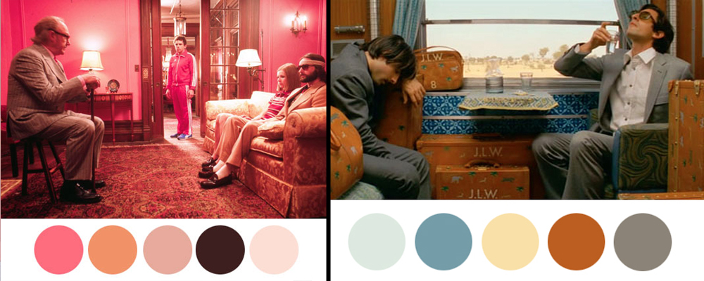 A Rainbow of Colour from the Movies!